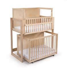 Crib Loft Bed by Decker Bunk Bed Stacked Cribs Must Save Space