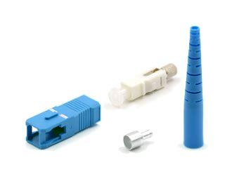 netviel epoxy sc connector sc 2mm simplex singlemode epoxy connector