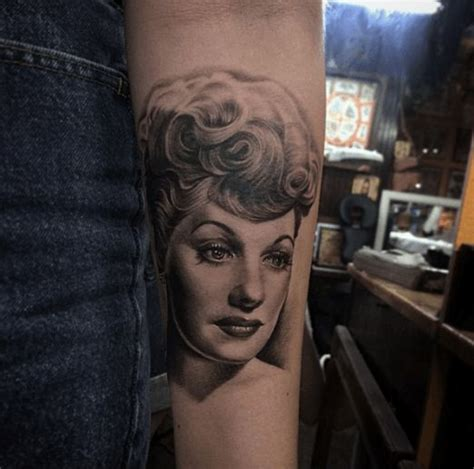 lucille ball tattoo 28 best tattoos images on lucille