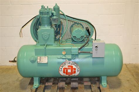 gardner denver add1011 5hp reciprocating air compressor the equipment hub