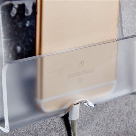 wall charging holder adhesive phone stand durable charger