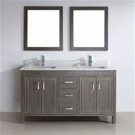 costco corniche 60 gray sink vanity by