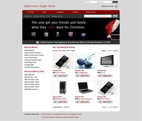 layout web ecommerce design an ecommerce website in photoshop designm ag
