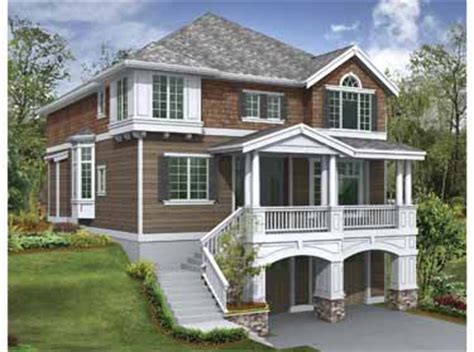 garage under house plans charming garage under plan hwbdo15330 craftsman house