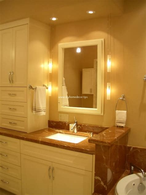 bathroom mirror and lighting ideas bathroom lighting ideas diy home decor