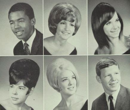 hairstyles for yearbook 1969 high school hairdos in the quot crucible quot yearbook of