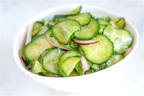 Cucumber Salad Recipe Dishmaps