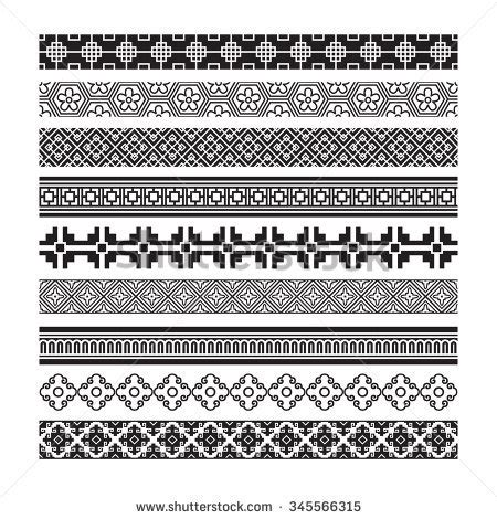 oriental pattern brush korean pattern stock photos royalty free images vectors