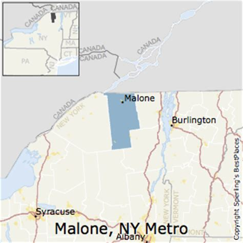 malone ny map best places to live in malone metro area new york