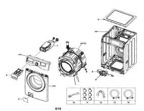 samsung washer frame drain parts model wf210anw xaa searspartsdirect