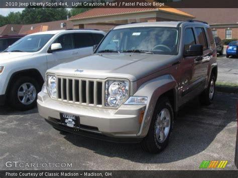 2010 Jeep Liberty Sport Light Graystone Pearl 2010 Jeep Liberty Sport 4x4