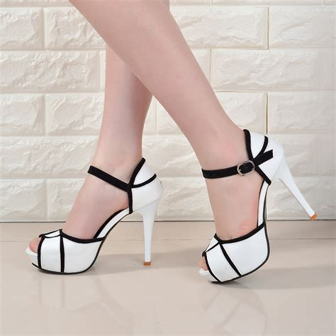 wholesale low price 2017 fashion womens shoes peep toe
