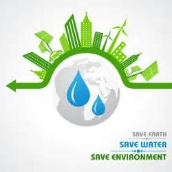 free logo design and save save environment design vector material 05 vector logo