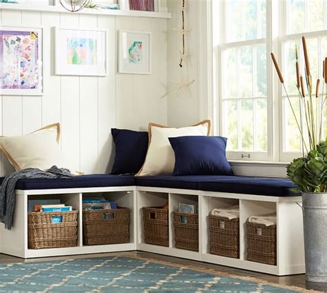 build your own banquette build your own ryland modular banquette pottery barn