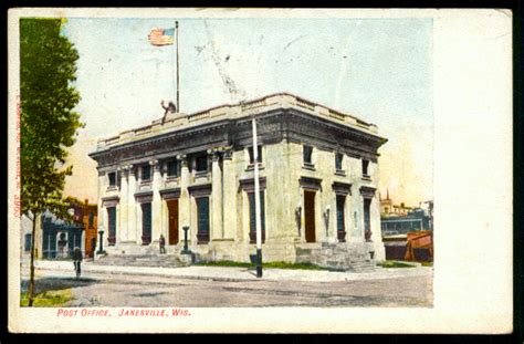 Office Depot Janesville Historical Post Cards Of Rock Co Wi Rock County