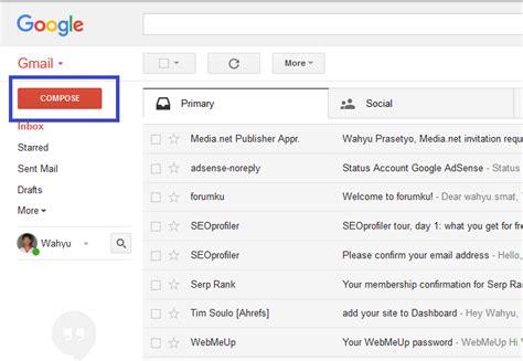 tutorial lengkap tentang cara membuat gmail panduan lengkap cara mengirim email di gmail terbaru 2016