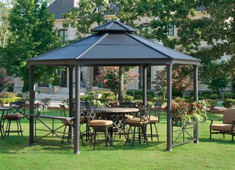 gazebo metal 34 metal gazebo ideas to enhance your yard and garden with
