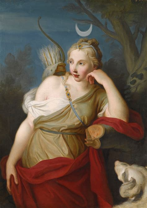Goddess Of The by File Pietro Antonio Rotari Diana Goddess Of The Hunt