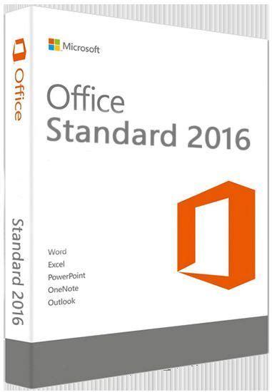 Microsoft Office Standard 2016 microsoft office 2016 standard 32 64 bit hiteco snc