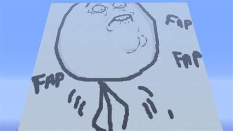 Fap Fap Meme - meme fap fap minecraft project