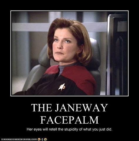 Star Trek Voyager Meme - 10 best facepalms a dude abiding