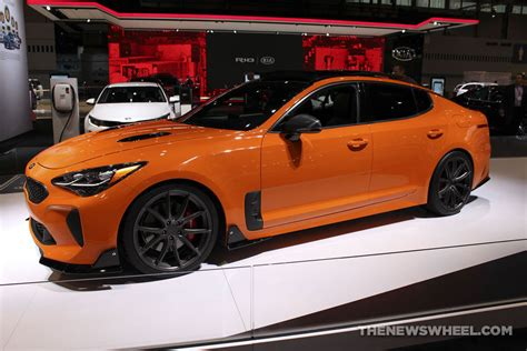 car and driver kia stinger 2018 kia stinger gt named one of the best four door sports
