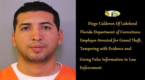 Florida Department Of Corrections Arrest Records Pcso Theft Investigation Leads To Arrest Of Florida Department Of Corrections Employee