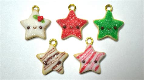 sugar clay ornaments sugar cookie polymer clay tutorial