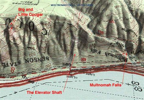 3d map of oregon big and