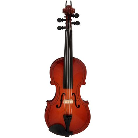 wooden violin ornament music christmas ornaments
