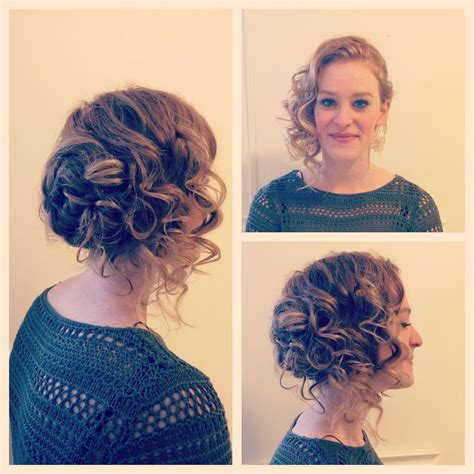 side swipe updo hairstyles 27 updos for curly hair designs ideas hairstyles