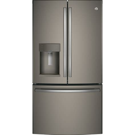 shop ge 27 8 cu ft door refrigerator with maker