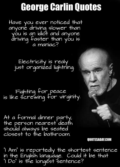 george carlin quotes dump a day