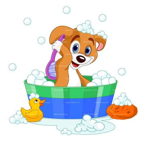 what is dogs in a bathtub dog in bath clipart clipartxtras