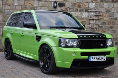 lime green range rover best tuning paint green range rovers bespoke modified