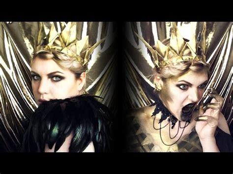 makeup tutorial evil queen the evil queen makeup tutorial the huntsman youtube
