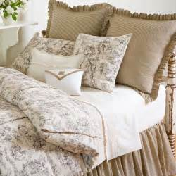 beige and white toile bedding love diy bedding designer luxury bedding sets bedroom decor ideas