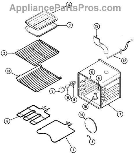 jenn air oven parts diagram parts for jenn air sve47500w oven parts