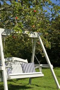 garden tree swing seat 25 best ideas about garden swing seat on pinterest