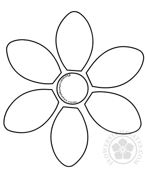 petal flower template auto electrical wiring diagram