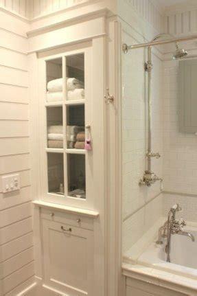 white bathroom linen cabinet foter
