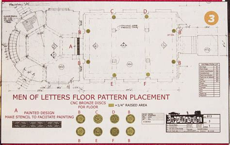 men floor plan the men of letters bunker from supernatural for sale