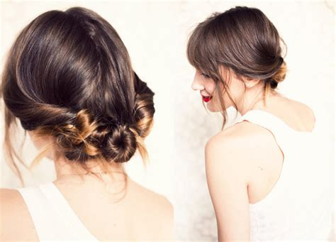 casual chignon hairstyles soft wedding hairstyle for boho and beach brides