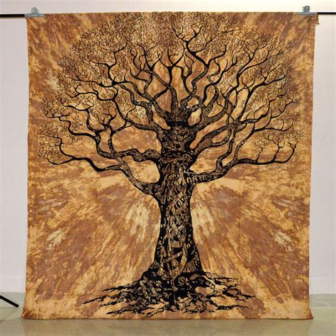 buy wall hanging tree tree of tapestry indian wall hanging hippie
