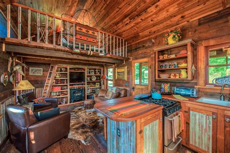the cabin house the cowboy cabin tiny houses small house bliss