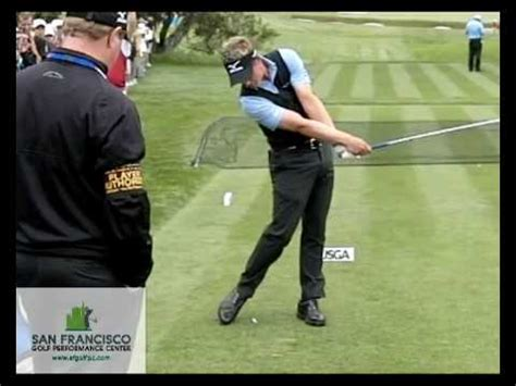 luke donald golf swing world no 1 luke donald fo slow motion golf swing 300 fps