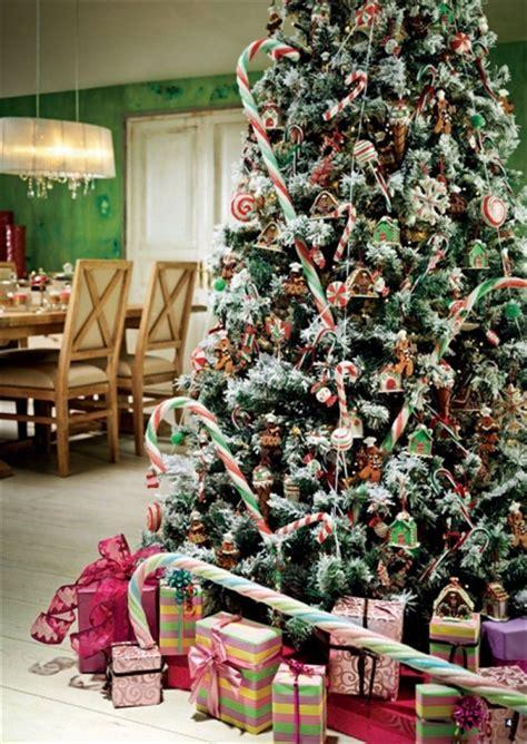 árbol de navidad con dulces imagenes de arboles decorados para navidad