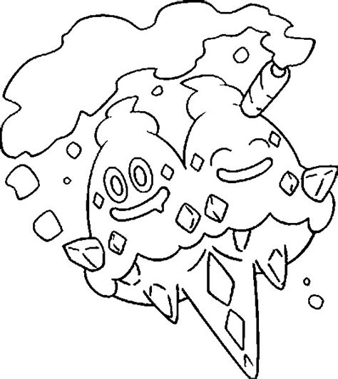 pokemon coloring pages vanillish coloring pages pokemon vanilluxe drawings pokemon