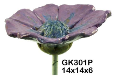 Deko Mit Blumen 2289 by Garten Stecker Blume Mohn Stab Gesteck Kugel
