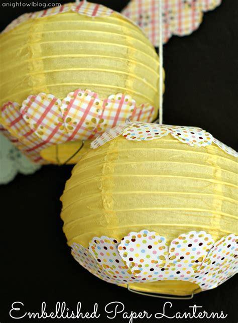 How To Make Paper Lanterns Martha Stewart - an easter vignette with martha stewart crafts a